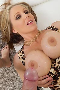 Julia Ann Cumshot On Tits