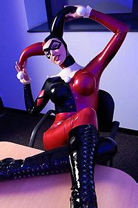Joker Rubber Harley Quinn