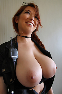 Tessa Fowler Busty Officer