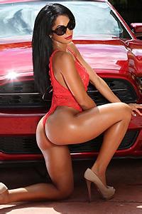 Roslita In Sexy Red
