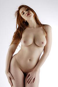 Busty Redhead Alixia