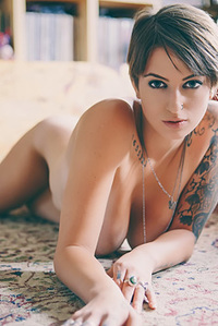 Busty Inked Hottie