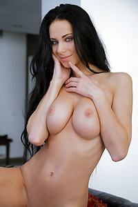 Busty Black Haired Lydia