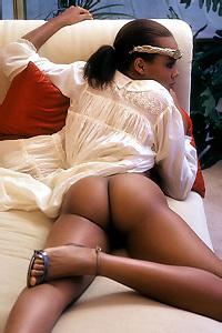 Anne-Marie Fox Ebony Playboy Babe