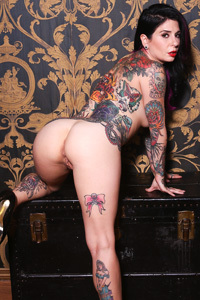 Joanna Angel Hot Tattooed Babe Strips
