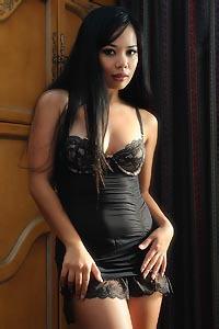 Luana Lani In Sexy Black Lingerie