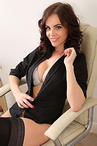 Emma Glover Sexy Secretary