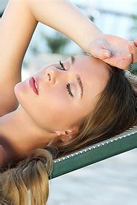 Karissa Sunbathing