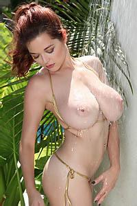 Tessa Fowler Bikini Shower