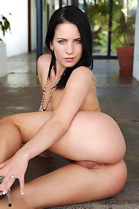 Naked Black Haired Aprilia