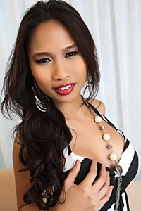 Busty And Exotic Asian Model Stella