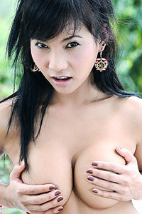 Lucy Sun Busty Asian Chick Strips