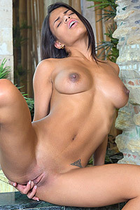 Denisse Gomez Shows Her Beautiful Shaved Pussy