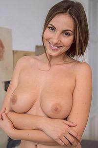 Damn Sexy Busty Josephine Gets Horny