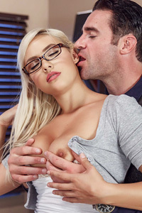 Schoolgirl Kylie Page Fucked In The Principal's Office