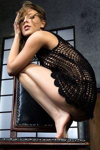Sweet-faced Russian Brunette Nikia