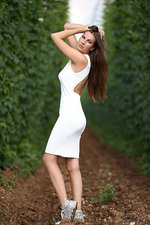 Connie Carter In Sexy White Dress 01