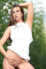 Connie Carter In Sexy White Dress 04
