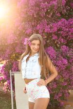 Sexy Russian Teen Maria Rya Fingering In The Garden 00
