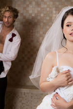 Horny Bride Yhivi Can't Wait Until The Wedding Night 01