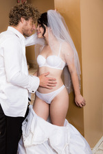 Horny Bride Yhivi Can't Wait Until The Wedding Night 02