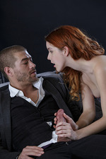 Lusty Redhead Likes It Hard 02