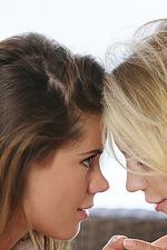 Lovely Lesbian Babes Caprice And Blake Eden 14