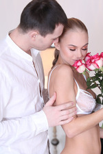 Sexy Russian Teen Babe Nancy Sucks A Huge Cock 00